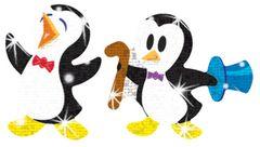 Stickers - Proud Penguins Sparkle - Pk 72 T63045
