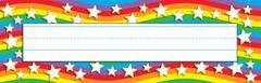 Name Plates - Star Rainbow - Pk 36 T69026