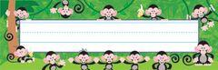 Name Plates - Monkey Mischief - Pk 36 T69029
