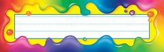 Name Plates - Rainbow Gel - Pk 36 T69030