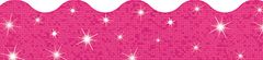 Border - Hot Pink Sparkle  T91421