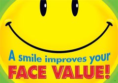 Chart - A Smile Improves Your Face Value  TA67333