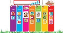 Weekly Activity Planner Magnetic Chart 9781943275236