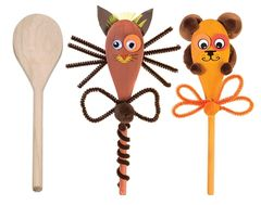Wooden Spoons Pk of 12 9314289014599