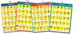 Chart - Alphabet Qld Beginners YI62162