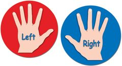 Stickers - Left & Right Hand - Pk 60  YI62634