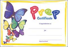 Certificate - Prep Butterfly - Pk 30 YI77244